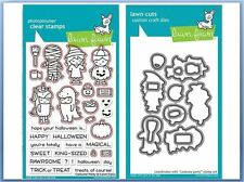 Lawn Fawn Photopolymer Clear Stamp & Die Combo ~ COSTUME PARTY ~LF1458,1459