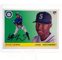 2020 Topps Archives Kyle Lewis 1955 Topps Rookie Card - ROY Mariners RC - QTY!