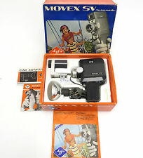 Agfa Movex SV Automatic Super 8 Typ 5169/220 Cine Agfalux Lampe Filter OVP iq014