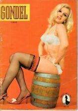 GONDEL - Zeitschrift Magazin - Heft 213 von 1966 - Models Musik Stories - B16571