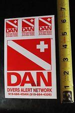 New listing Divers Alert Network Dan Scuba Snorkel Dive Vintage Surfing/Diving Sticker