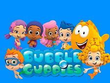 Bubble Guppies Edible Birthday Cake Image Topper Frosting Icing 1/4 Sheet