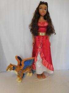 Disney Elena of Avalor My Size Doll 3 FooT   +  Elena of Avalor Talking Skylar