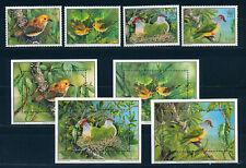 COOK ISLANDS 1989 WWF SG1222/1225 + MS1226 (4 sheetlets) MNH