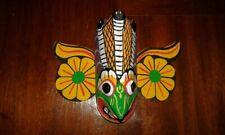 Cobras Bird Devil Mask hand Carved Wood Wall Art Decor, home,office Sri Lanka