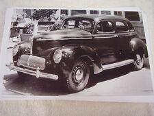 1940 WILLYS SEDAN   11 X 17  PHOTO  PICTURE