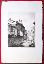 Eau-forte originale, A Andrezieux, Huot, Cadart, XIXe