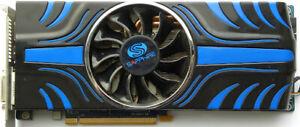 Sapphire Radeon HD 5870 2GB GDDR5 Dual DVI/HDMI/DP Graphics card