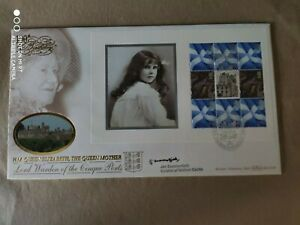 2000 GB - Queen Mother 100th Birthday - signed Jan Summerfield - Walmer Castle