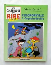 BD - Chlorophylle a coquefredouille + Timbre / EO 1998 / MACHEROT / LE LOMBARD
