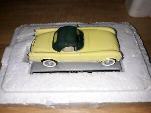 VINTAGE THE DANBURY MINT 50 YEARS OF CORVETTE 1/43 SCALE CAR 1955 MODEL YEAR