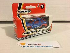 Matchbox * Land Rover Freelander #9 * Blue * L28
