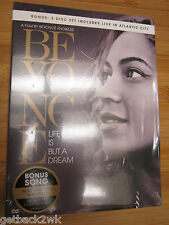NEW✿ BEYONCE LIFE IS BUT A DREAM 2013 DVD 2 DISC BOXED SET LIVE IN ATLANTIC CITY