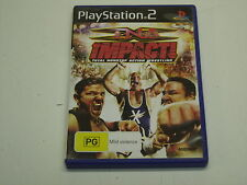 PS2 GAME TNA IMPACT WRESTLING
