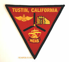 MCAS TUSTIN PATCH US MARINES CORPS AIR STATION BLIMP HANGAR PIN UP Dirigible WOW