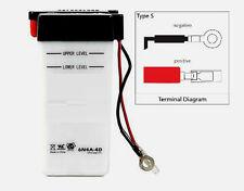 Batterie 6V 4Ah YAMAHA RD 50 M2L5 BATONS 1979 - 1980/TY 50 M 1G3 , 1978 - 1980