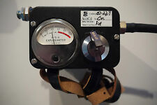 MSA EXPLOSIMETER 43351 COMBUSTIBLE GAS INDICATOR MODEL 3 HYDROGEN
