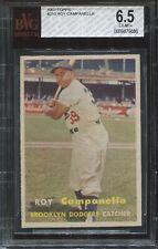 1957 Topps #210 Roy Campanella BGS 6.5 Ex-Mt+  HOF
