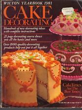 ~Wilton Cake Decorating Yearbook 1981~