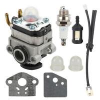 Carburetor Carb Fuel filter spark plug for Honda FG100 GX22 GX31 4 Cycle Engine