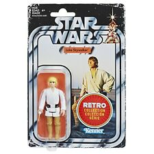 "Star Wars Retro Collection 2019 Luke Skywalker 3.75"" Action Figure New On Card"