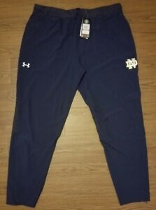 Under Armour Notre Dame Fighting Irish Windbreaker Track Pants NWT 2XL 3XL 4XL