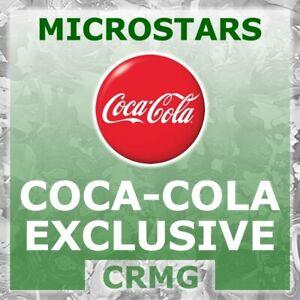 CRMG Corinthian MicroStars COCA COLA COKE JAPAN 2002 RED (like SoccerStarz)