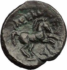 ALEXANDER III the GREAT 336BC Apollo Horse Authentic Ancient Greek Coin i57452
