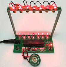 DIY Kit C51 MCU Laser Harp Kit Cuerda Teclado Electrónico Kit Parts Funny Kit