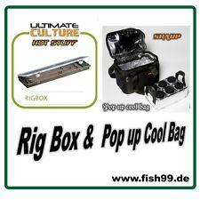 Skarp Pop up Cool Bag mit 6 Dosen+ ULTIMATE Culture Hot Stuff Rig Box