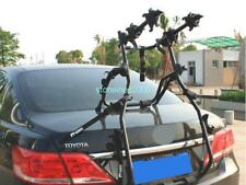 VI Black 2 Bike Bicycle Cycle Rack Rear Trunk Mount Hitch Carrier For Car SUV