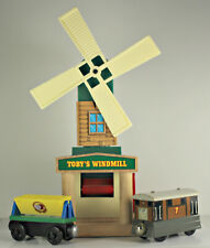 Learning Curve Thomas & Friends Toby's Windmill Flour Wooden Railway Part Set
