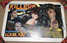 THE KILLERS concert gig poster MELBOURNE November 2007 trent reznor Rhys Cooper