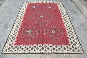 Magnificent Verry Fine Sarkoy Kilim,decorative kilim,Antique kilim,Room size rug