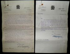More details for 1918 wwi justice clerks exemption from military service - home office letters