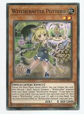 Witchcrafter Potterie INCH-EN014 Super Rare Yu-Gi-Oh Card 1st Edition New