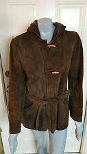 Vintage KMART Women's Size 16 Genuine Leather Jacket 100% Nylon Lining  Korea