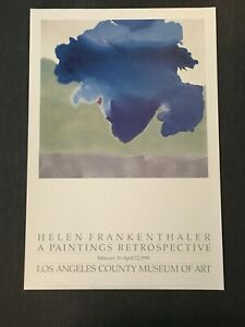 Helen Frankenthaler - The Bay, 1963 - 1990 - Exhibition Offset Poster
