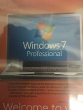 Microsoft Windows 7 Professional 64 Bit Full DVD with Product Key.(Old version)