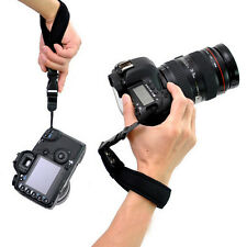 Camera Hand Grip For Canon EOS Nikon Sony Olympus SLR/DSLR Cloth Wrist Strap  OZ