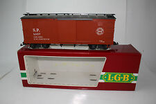 LGB G SCALE #4067 A 01 SOUTHERN PACIFIC LINES SLIDING DOOR BOXCAR, NICE, BOXED