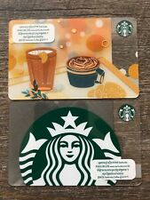 2 NEW STARBUCKS CAMBODIA 2019 GIFT CARDS LOT LIMITED