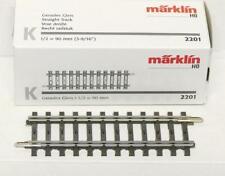 Märklin 1x 2202 sehr gut gebraucht Vollprofil K-Gleis Gerade 45 mm