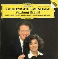 KATHLEEN BATTLE JAMES LEVINE SALZBURG RECITAL CD 1986 USA PRESSING NR MINT