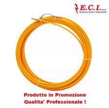 Pilota Sonda Tira cavi Professionale per cavidotti o corrugati in fibra 30MT