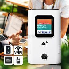 Portable 4G/3G LTE Wireless Mobile Router Pocket WiFi Hotspot Power Bank Type