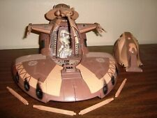 STAR WARS CLONE WARS FEDERATION AAT ARMORED ASSAULT TANK BROWN 100% COMPLETE