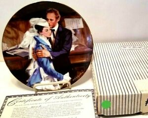 Gone With The Wind Collector Plate 1988 WS George A QUESTION OF HONOR