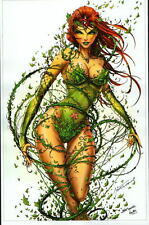 POISON IVY Print Batman HAND SIGNED by Jamie Tyndall w COA