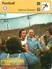 FICHE CARD : Helmut Schön GERMANY Deutschland ALLEMAGNE FOOTBALL 70s